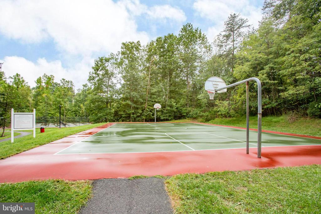 Community basketball cout - 67 SAINT ROBERTS DR, STAFFORD