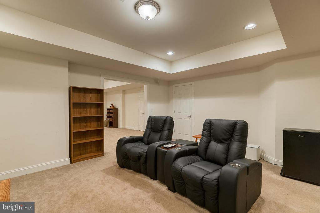 Recreation Room on lower level - 8635 LAROQUE RUN DR, FREDERICKSBURG