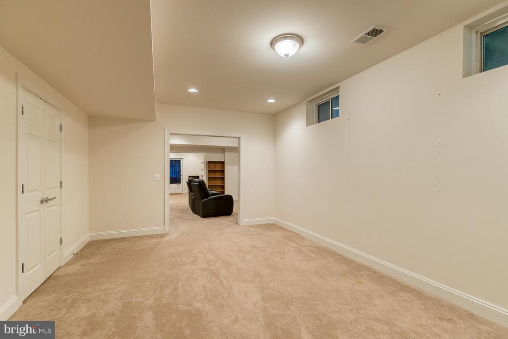 Large room on the lower level - 8635 LAROQUE RUN DR, FREDERICKSBURG