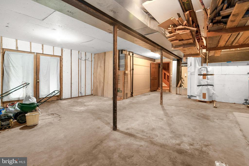 Storage Room with Walkout to Patio - 7335 DANCE HALL RD, FREDERICK
