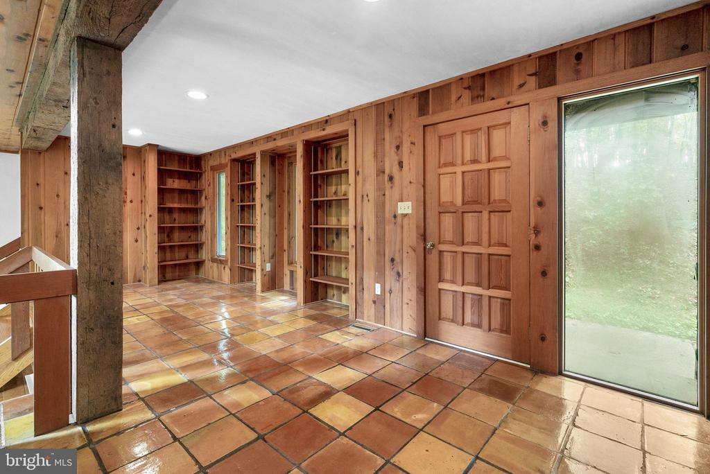 Foyer with Built-Ins - 7335 DANCE HALL RD, FREDERICK