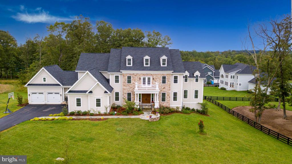 Aerial Front View - 41219 TRAMINETTE CT, ASHBURN