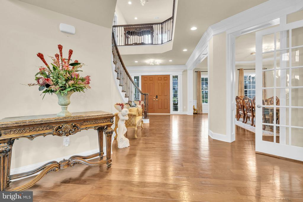 Grand Entry Foyer showcasing the Double Door Entry - 41219 TRAMINETTE CT, ASHBURN