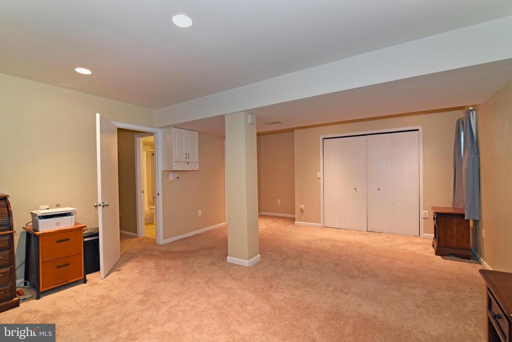 Fourth bedroom on lower level - 12818 FANTASIA DR, HERNDON