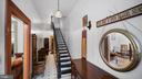 GRACIOUS FOYER WITH LOW RISER STAIRCASE - 130 W THIRD ST, FREDERICK