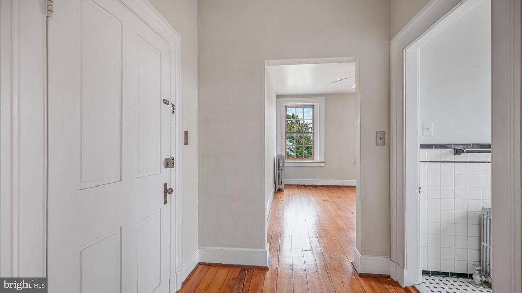 VIEW TO 3RD FL LIVING ROOM - 130 W THIRD ST, FREDERICK
