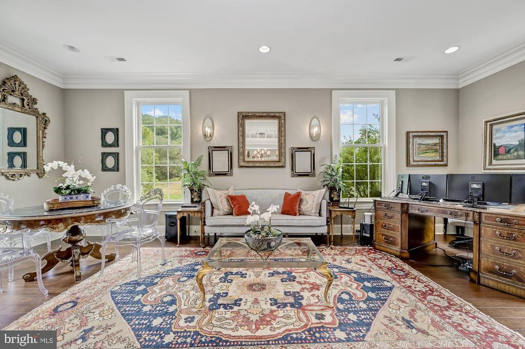 Private Office Behind French Doors - 7549 FINGERBOARD RD, FREDERICK