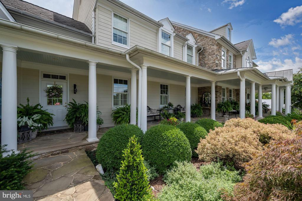 Secondary Entry Porch - 7549 FINGERBOARD RD, FREDERICK