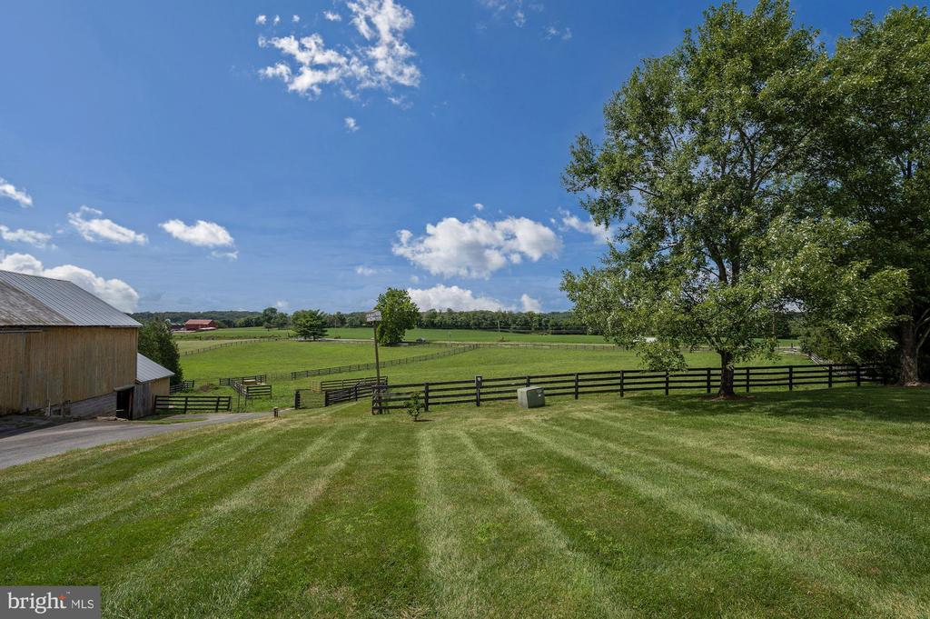 10 Acres of Fenced Pastures - 7549 FINGERBOARD RD, FREDERICK