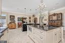 Limestone Floor Tile & Feature Lighting - 7549 FINGERBOARD RD, FREDERICK