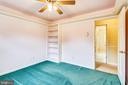 Bedroom 3 - 16509 MAGNOLIA CT, SILVER SPRING