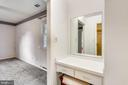 Primary bedroom vanity - 16509 MAGNOLIA CT, SILVER SPRING