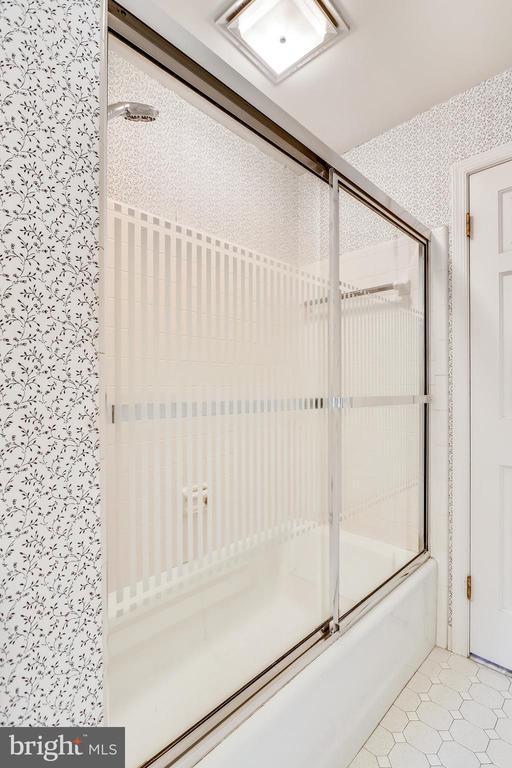 Main level full bath - 16509 MAGNOLIA CT, SILVER SPRING