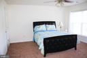 Master bedroom - 3045 PONY RIDGE TURN, DUMFRIES