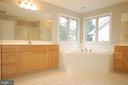 Luxury primary bathroom - 8599 EASTERN MORNING RUN, LAUREL
