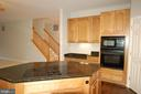 Gourmet kitchen w/ built in microwave & wall oven - 8599 EASTERN MORNING RUN, LAUREL