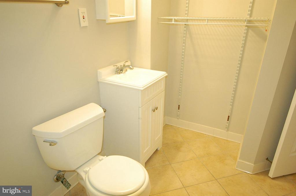 The 3rd full bathroom in basement - 8599 EASTERN MORNING RUN, LAUREL