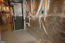 Full laundry rough-in in basement utility room - 8599 EASTERN MORNING RUN, LAUREL
