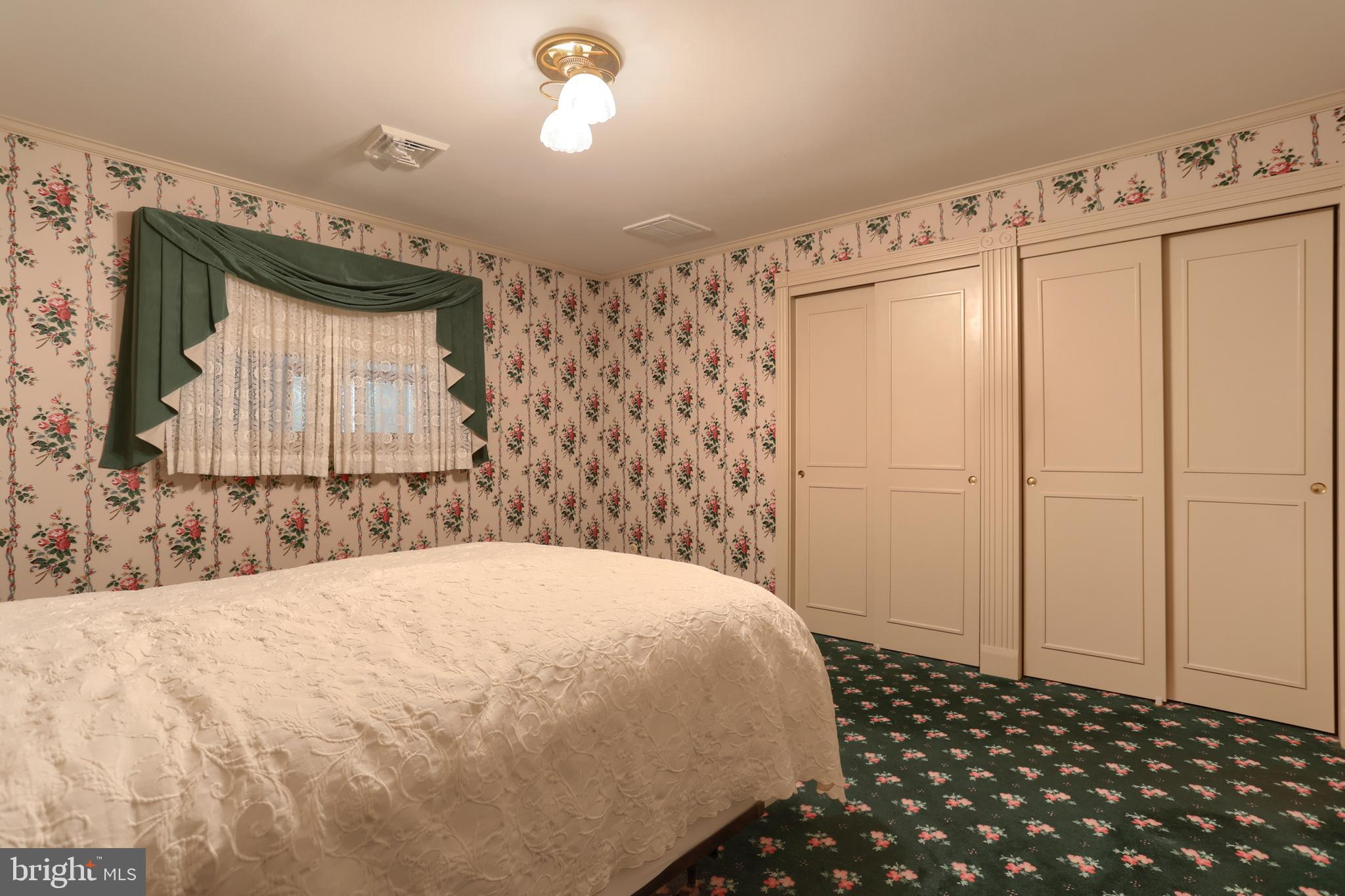 Bedroom 1 with great closet area!