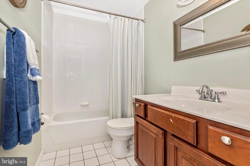 Basement full bathroom - 9803 PEBBLE BEACH CT, IJAMSVILLE