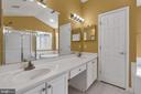 Dual Vanity sink - 104 SHERIDAN WAY SW, LEESBURG
