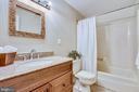 Full bathroom - 11955 GREY SQUIRREL LN, RESTON