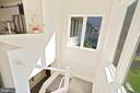 BACK STAIRCASE - 13814 ALDERTON RD, SILVER SPRING
