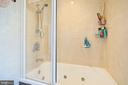 FULL BATH - UPPER LEVEL - 13814 ALDERTON RD, SILVER SPRING
