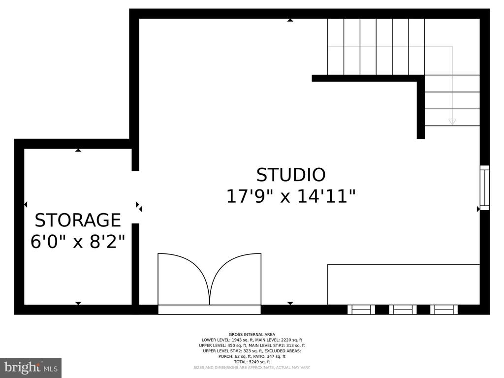 ENTRY LEVEL - STUDIO - 13814 ALDERTON RD, SILVER SPRING