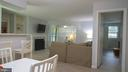 View from dining area - 11713-D KARBON HILL CT #707A, RESTON