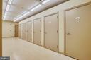 Vast separate storage unit included in condo fee - 1418 N RHODES ST #B-112, ARLINGTON
