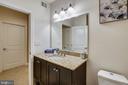 & Large vanity with stone countertop - 1418 N RHODES ST #B-112, ARLINGTON