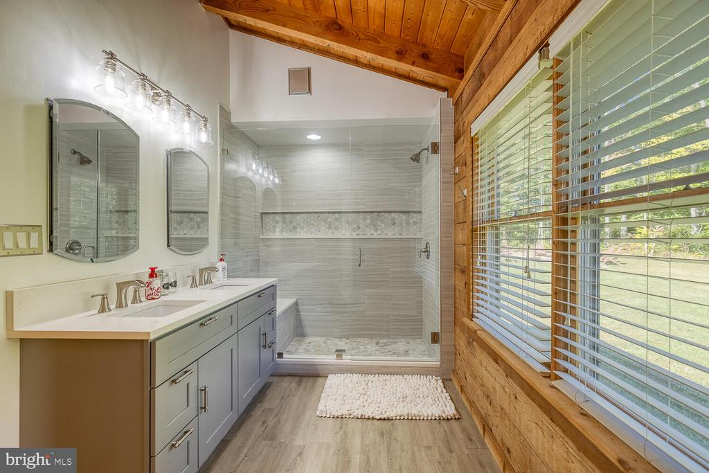 Fully updated primary bath - 29471 NEW HAMPSHIRE RD, RHOADESVILLE