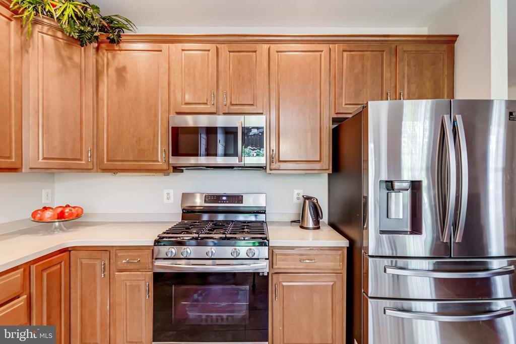 New gas oven and new microwave - 19741 ESTANCIA TER, ASHBURN