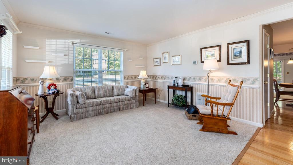 Cheery living room with lots of light - 9835 PLAZA VIEW WAY, FREDERICKSBURG