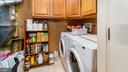 Laundry/utility room.  Washer and dryer convey - 9835 PLAZA VIEW WAY, FREDERICKSBURG