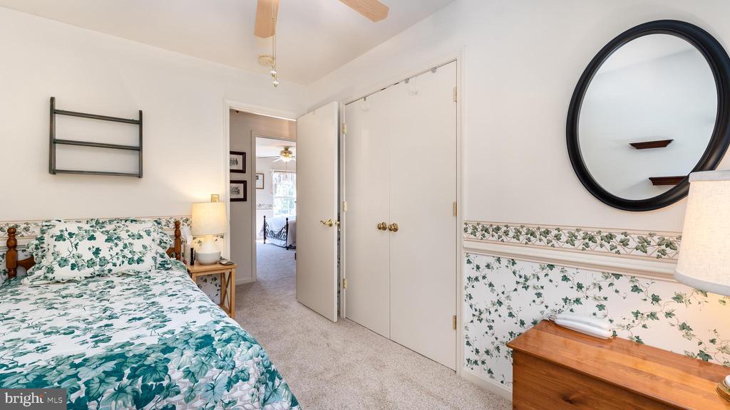 3rd bedroom shows double closet doors - 9835 PLAZA VIEW WAY, FREDERICKSBURG