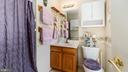 Primary full bath with shower - 9835 PLAZA VIEW WAY, FREDERICKSBURG