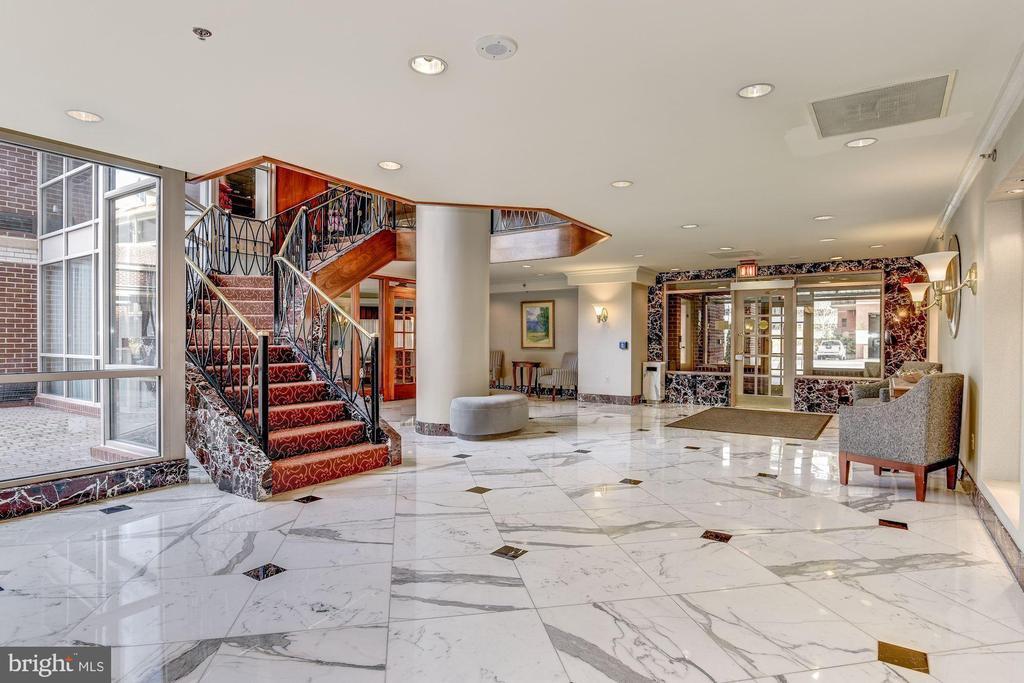 Beautiful and elegant lobby - 1276 N WAYNE ST #608, ARLINGTON