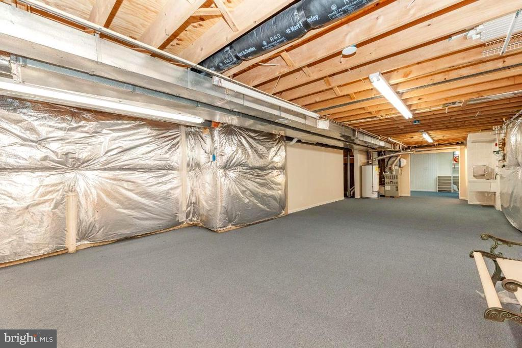Enormous Basement  with Extra Storage - 47430 RIVERBANK FOREST PL, STERLING