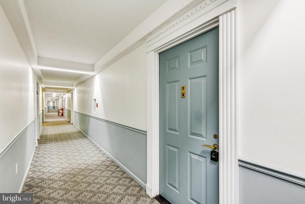 Hallway - 3330 N LEISURE WORLD BLVD #5-518, SILVER SPRING