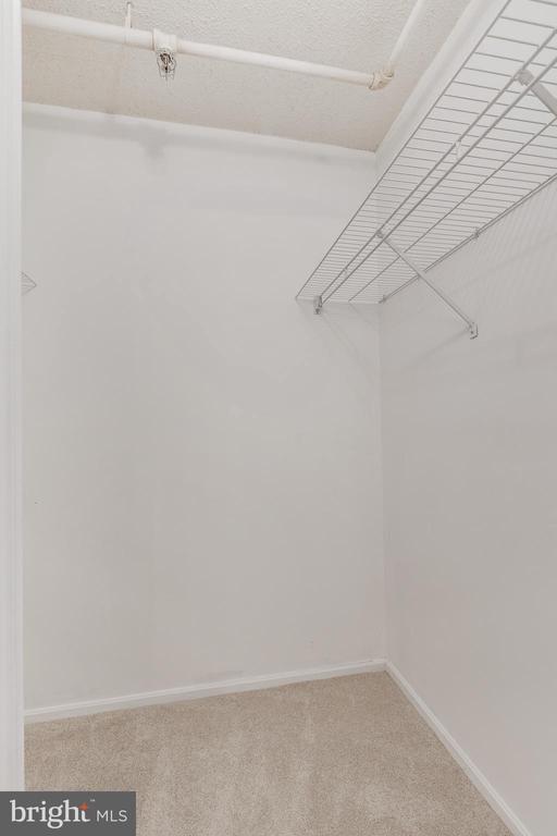Primary bedroom walk-in closet - 3330 N LEISURE WORLD BLVD #5-518, SILVER SPRING