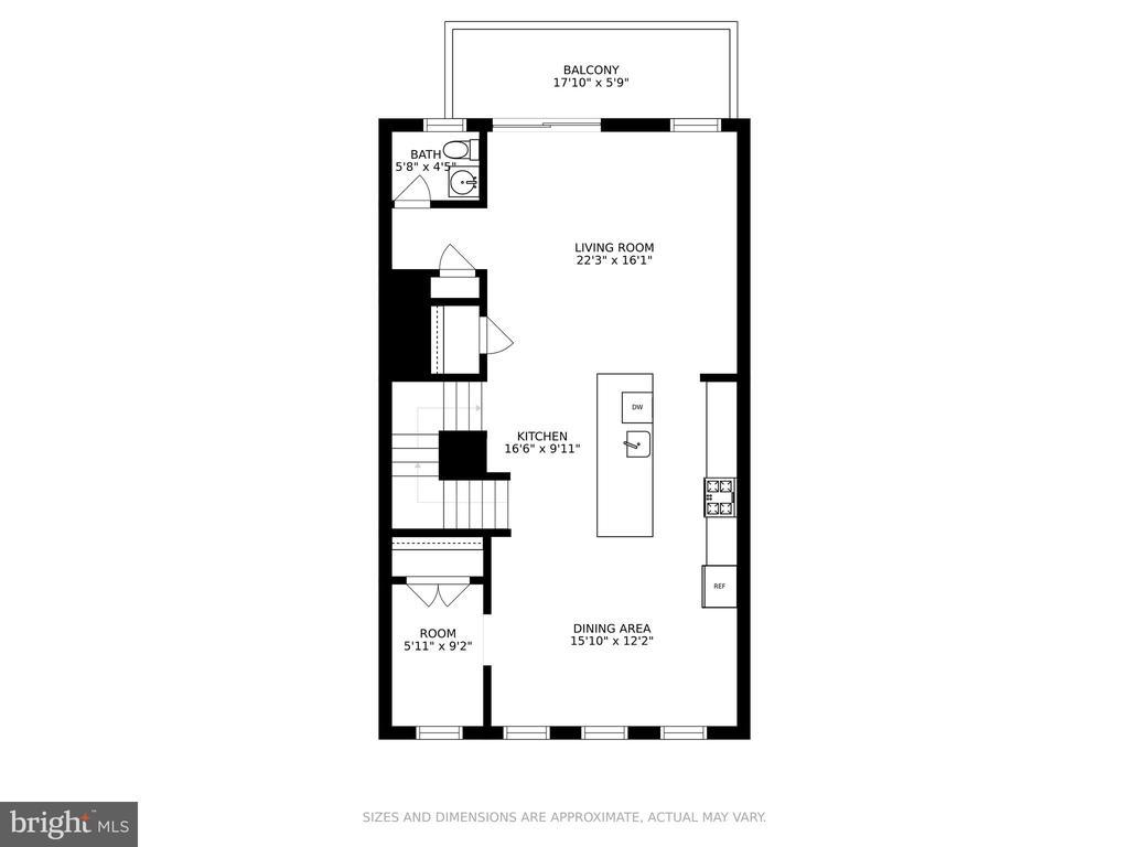 Main level - 1634 SANDPIPER BAY LOOP, DUMFRIES