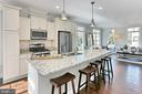 Custom island provides a welcome space for friends - 4348 4TH N, ARLINGTON