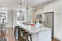Enjoy this beautiful kitchen with  RH lighting - 4348 4TH N, ARLINGTON