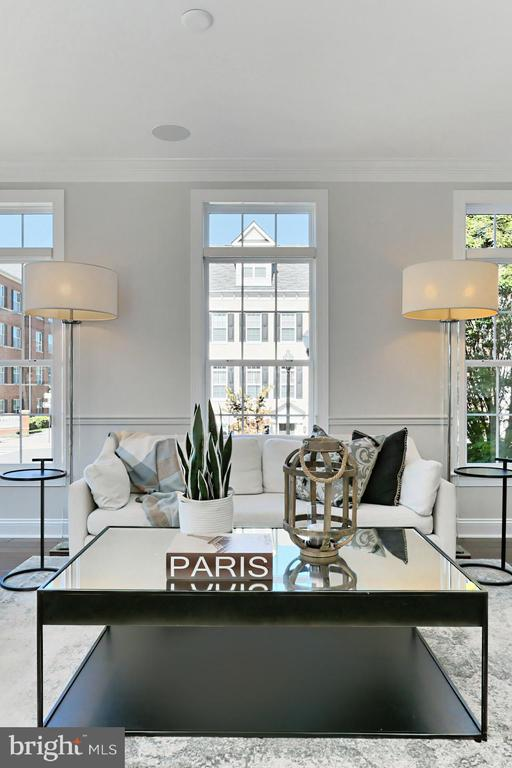 transom windows bring in so much natural light! - 4348 4TH N, ARLINGTON