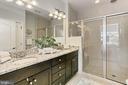 Owner's en suite bath .. with rain head shower. - 4348 4TH N, ARLINGTON