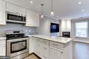 SS appliances, upgraded cabinets and granite - 4113 11TH PL N, ARLINGTON