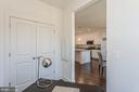 Storage closet in  office off kitchen/dining area - 1634 SANDPIPER BAY LOOP, DUMFRIES