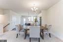 Central dining area - 1638 SANDPIPER BAY LOOP, DUMFRIES
